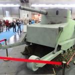 Das HGM hat ein Modell des Burstyn-Motorgeschützes im Maßstab 1:1 mitgebracht © Doppeladler.com