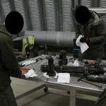 Reinigung des 6-läuigen 7,62mm M-134 Gatling Maschinengewehrs © MzHSSt