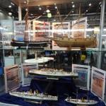 Modellschiffe gab es auf beiden Messeständen zu sehen © Doppeladler.com