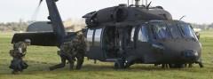 Sikorsky S-70A-42 Black Hawk bei der Night Hawk 2012 © forsvaret.dk