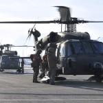 Nach erfolgreicher Bergung kehren die Hubschrauber nach Hohenems zurück © Bundesheer / Schwärzler