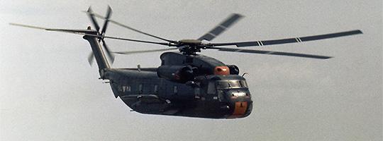 Sikorsky S-65OE der österreichischen Luftstreitkräfte © Peter Nicholson