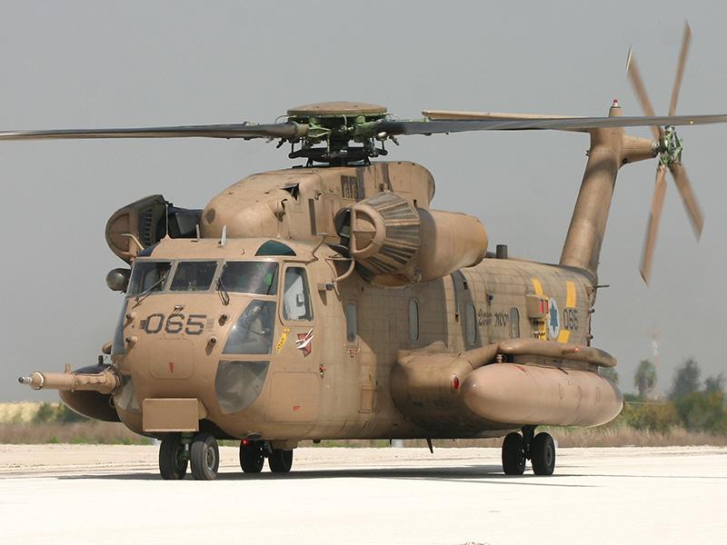 Yas'ur 065 (ex 5L-MA) im Jahr 2005 nach dem Umbau zur Version Sikorsky CH-53 Yas'ur 2000 © Ofer Zidon
