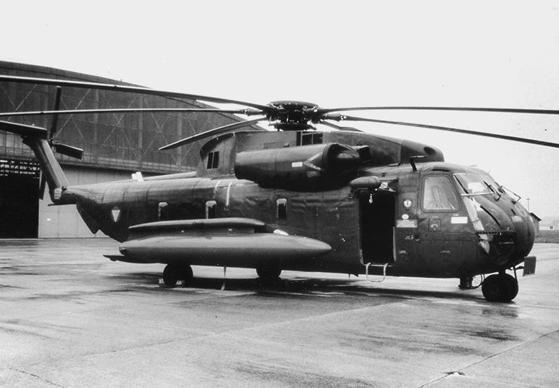 5L-MA mit Zusatztanks am 14. Mai 1981 - einem Tag vor dem Abflug nach Israel © BMLVS/LuAufklSta
