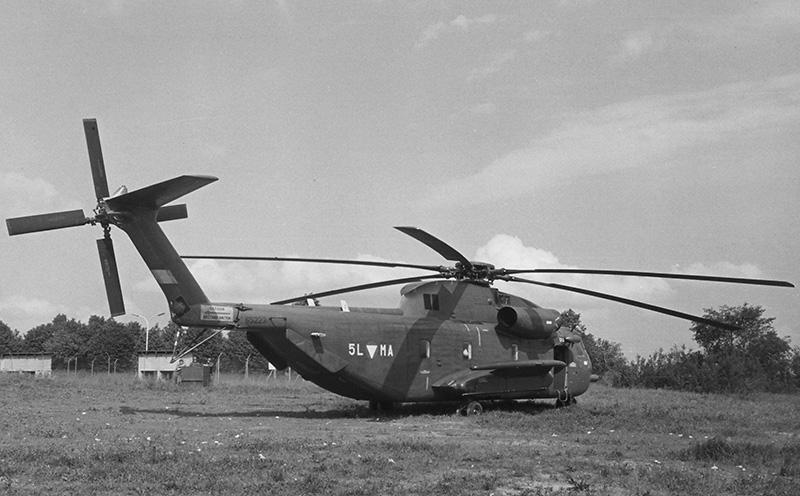 Sikorsky S-65OE mit der Kennung 5L-MA in Langenlebarn © BMLVS/LuAufklSta