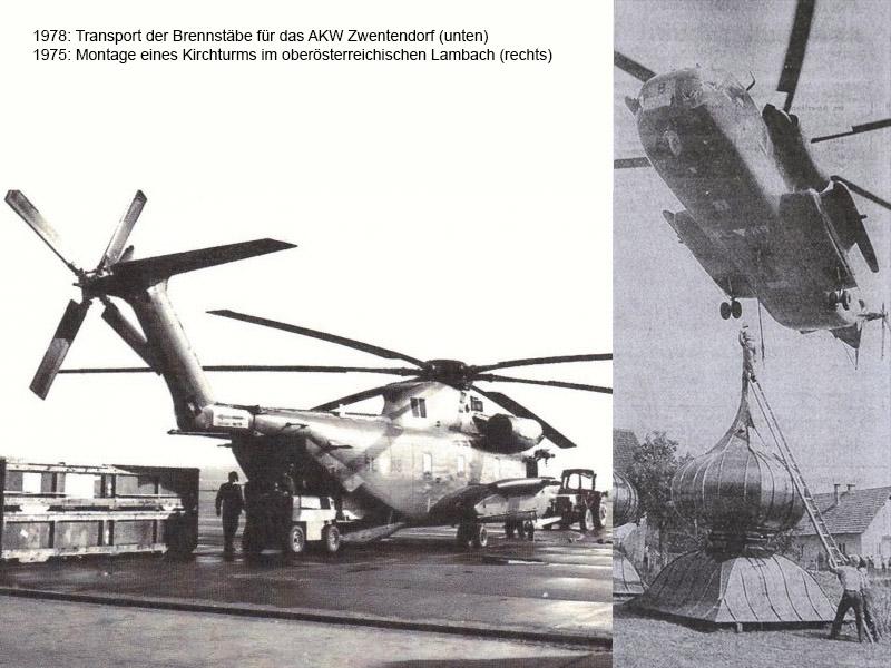 5L-MB bei zwei ganz besonderen Einsätzen © Archiv