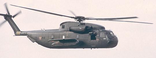 Sikorsky S-65OE im Jahr 1980 © Strobl