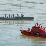 Feuerwehr trifft SMS Novara