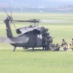 Dieser Black Hawk holt die Verwundeten ab