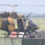 Auch die Schützen auf den Häuserdächern werden abgeholt