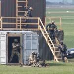 Jetzt beginnen auch die Jagdkommando-Soldaten mit dem Rückzug