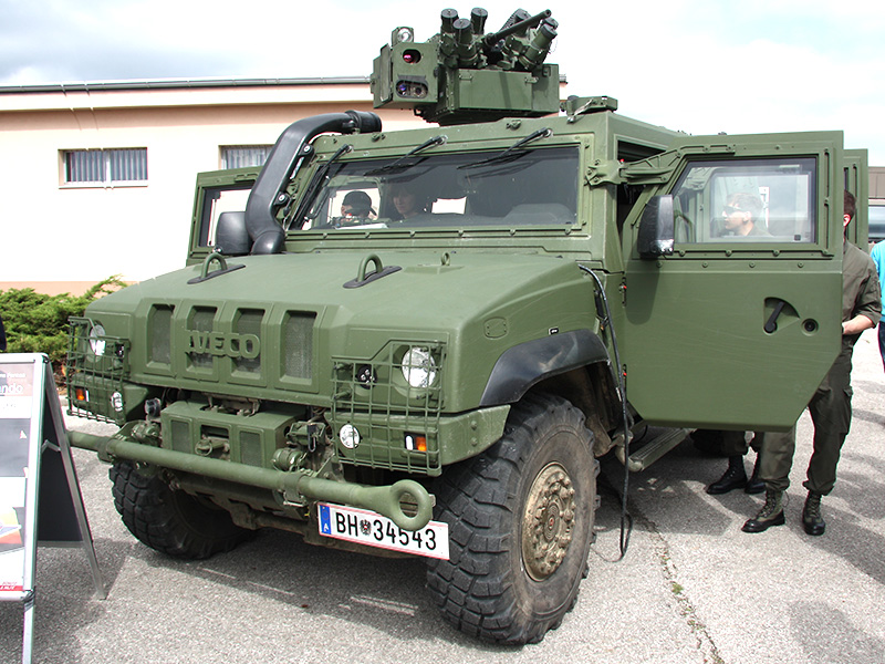 Neu beim Jagdkommando: IVECO LMV. Die Spezialeinsatzkräfte erhalten 24 Fahrzeuge
