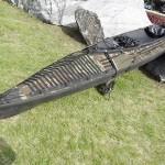 Klepper-Faltboot für die lautlose Infiltration vom Wasser aus