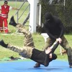 Die Nahkampfausbildung wird beim Jagdkommando groß geschrieben