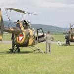 Bell OB-58B Kiowa - wir sind für die Variante mit Tarnbemalung und hoffen, dass sie uns noch eine Weile erhalten beibt