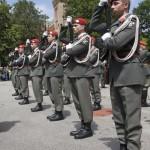 Auftritt des Gardebataillons und der Gardemusik © T. Hufnagel
