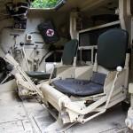 Fahrer- und Beifahrersitz des Bergepanzers Greif © Doppeladler.com