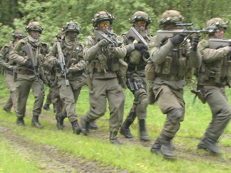 Angriff der abgesessenen Jäger © Doppeladler.com