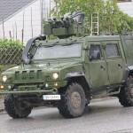 Geschütztes Mehrzweckfahrzeug Iveco LMV © Bundesheer / Stimpfl