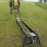 Das Startkatapult wird aufgeklappt © Doppeladler.com