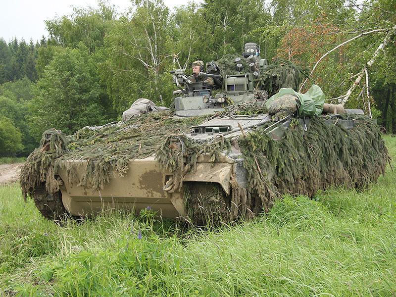 Schützenpanzer Marder der Bundeswehr © Doppeladler.com