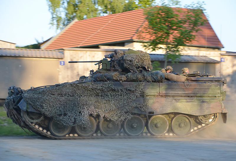 Auch die Bundeswehr rückt in Steinbach ein © Bundesheer / Stiegler
