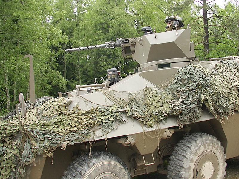 Das Jägerbataillon 17 ist mit dem Pandur A1 6x6 ausgestattet © Doppeladler.com