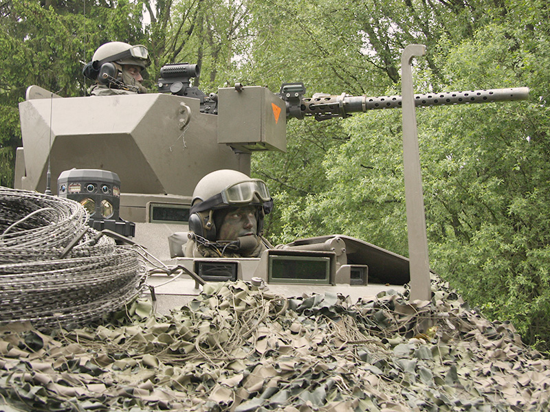 Radpanzer Pandur A1 6x6 © Doppeladler.com