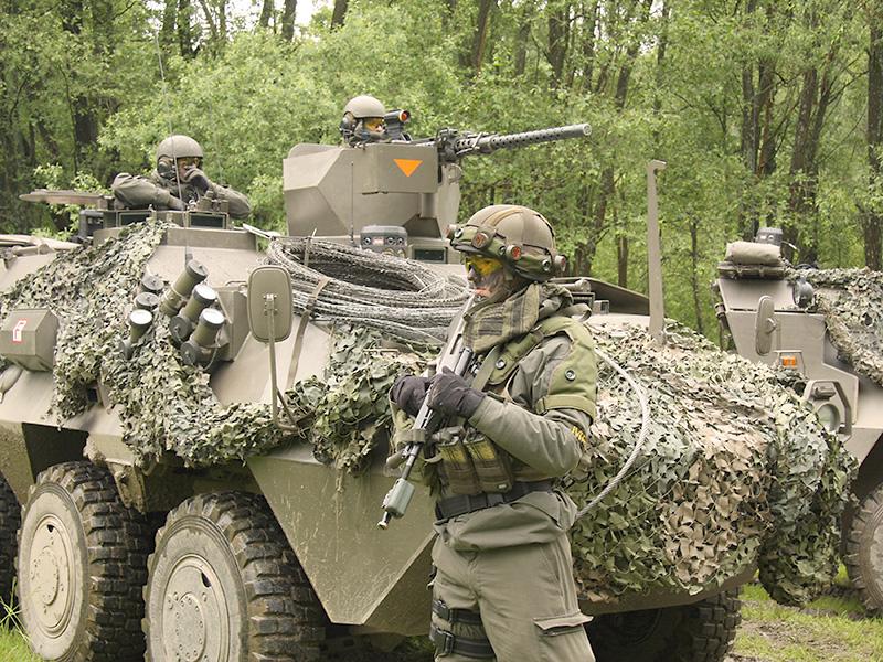 """""""Boots-on-the-ground"""" - Bei der EURAD13 wird nur der scharfe Schuss simuliert - die Truppe ist real © Doppeladler.com"""