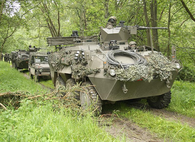 Der Konvoi setzt sich erneut in Bewegung © Doppeladler.com