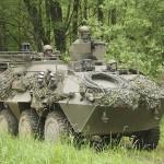 Radpanzer Pandur A1 6x6 der vorstoßenden Truppe © Doppeladler.com