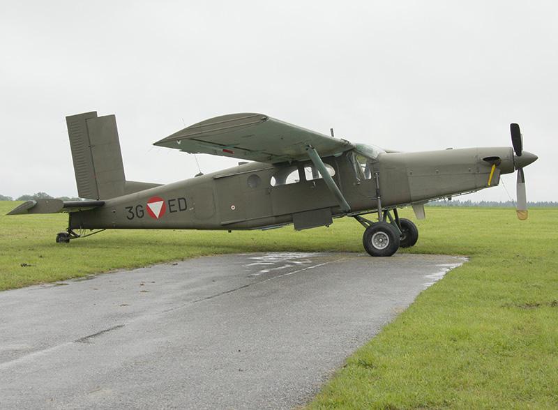 """Pilatus PC-6 Turbo Porter """"3G-ED"""" © Doppeladler.com"""