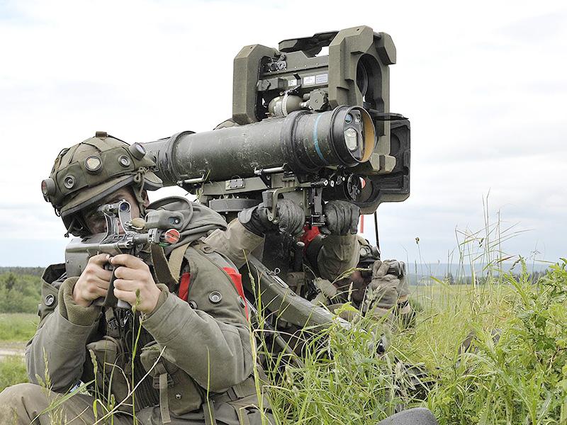 """""""Redland-Truppen"""" mit der Panzerabwehrlenkwaffe PAL 2000 © Bundesheer / Plutsch"""