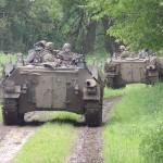 Die Schützenpanzer rücken weiter vor © Doppeladler.com