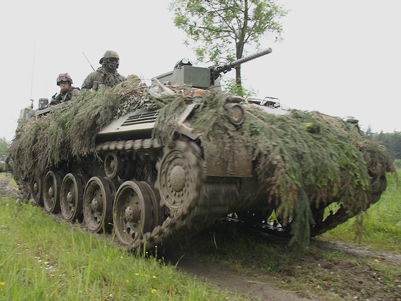 Die Panzerpioniere sind mit Schützenpanzern SPz A1 ausgerüstet © Doppeladler.com