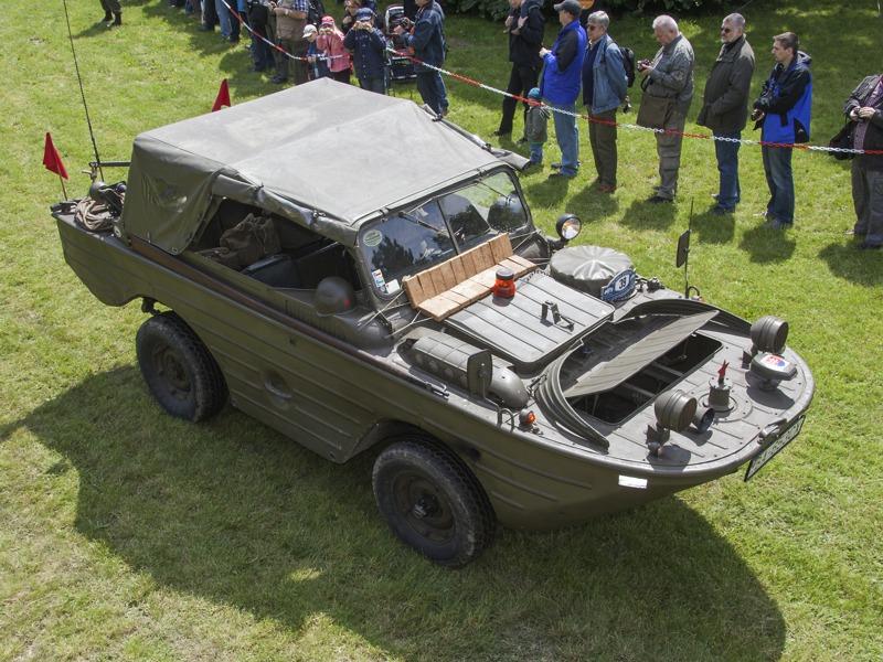 Sowjetisches Amphibienfahrzeug vom Typ GAZ-46 © T. Hufnagel