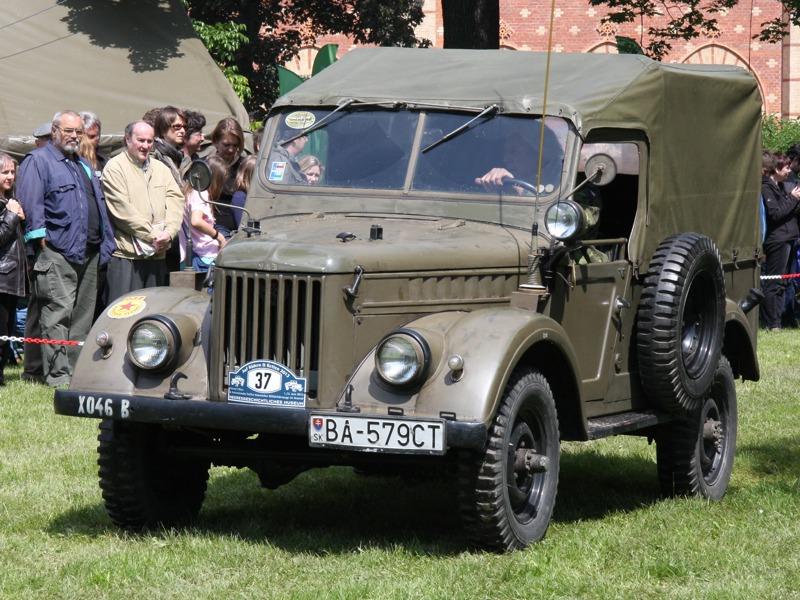 Der GAZ-69 ist ein Geländewagen (4×4) aus sowjetischer Produktion © Doppeladler.com
