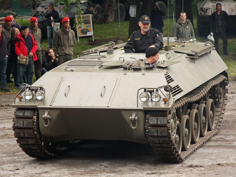 Besser geeignet war dann doch der zweite Entwurf des Saurer Schützenpanzers © Doppeladler.com
