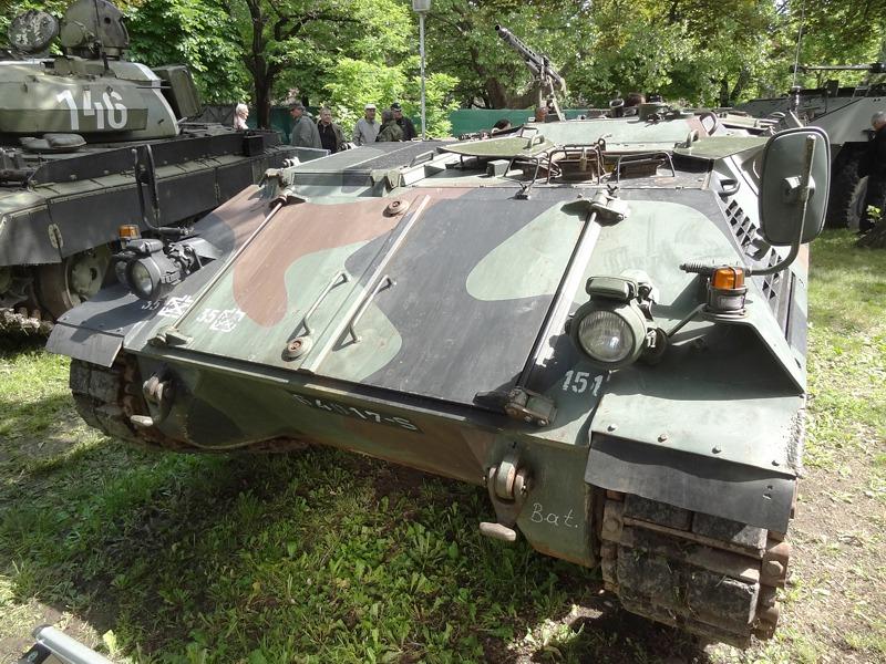 Schützenpanzer SPzA1 GrW mit 81 mm Granatwerfer © Doppeladler.com