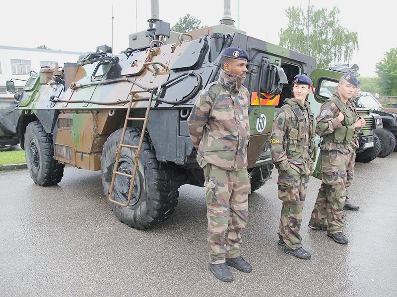 VAB Recce 4x4 der französischen Truppe © Bundesheer / Stimpfl
