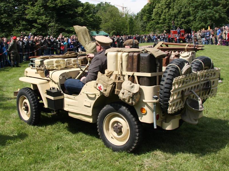 Willys Jeep der Desert Rats der britischen Spezialeinheit SAS - Special Air Service © Doppeladler.com