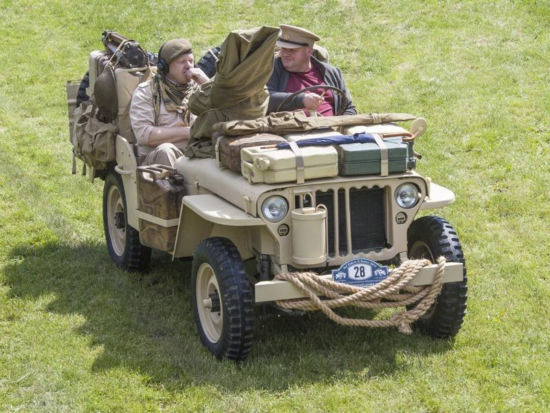 Willys Jeep der Desert Rats der britischen Spezialeinheit SAS - Special Air Service © T. Hufnagel