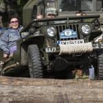 Willys Jeep - ein Spaß für die ganze Familie © T. Hufnagel