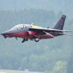 Demilitarisierter Dassault/Dornier Alpha Jet der Flying Bulls