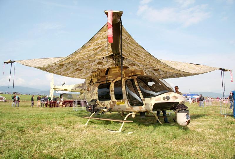 Bell 407GT - könnte eines Tages den Kiowa beerben