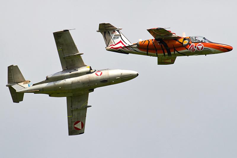 BK2 - Zwei Saab 105ÖE des ÖBH! © Bernd Karlik