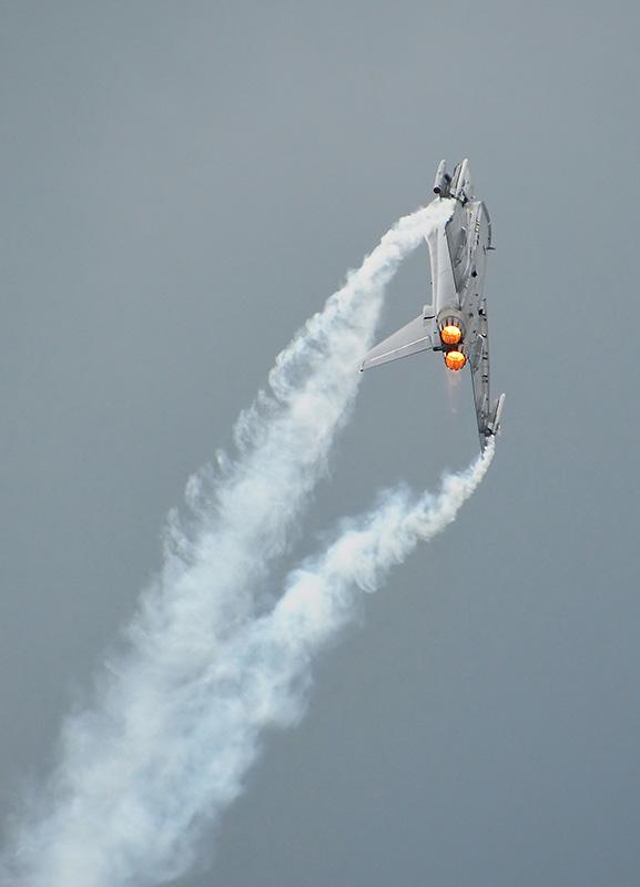 CW2 - Eurofighter beim Alarmstart © ChW