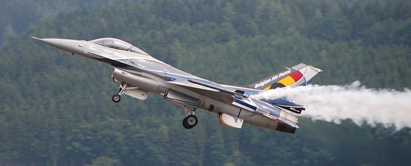 DA2 - Belgische F-16 © Dominik Altersberger