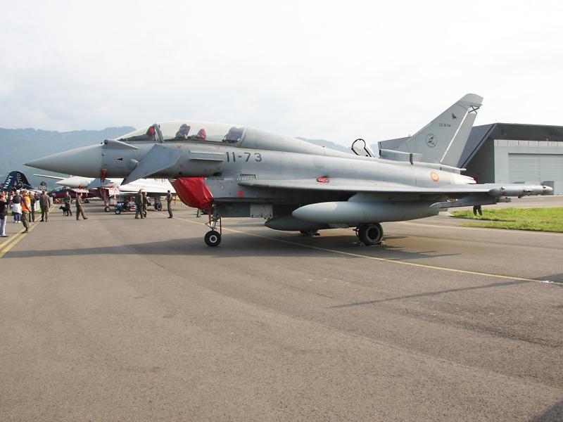 Eurofighter Typhoon Doppelsitzer aus Spanien