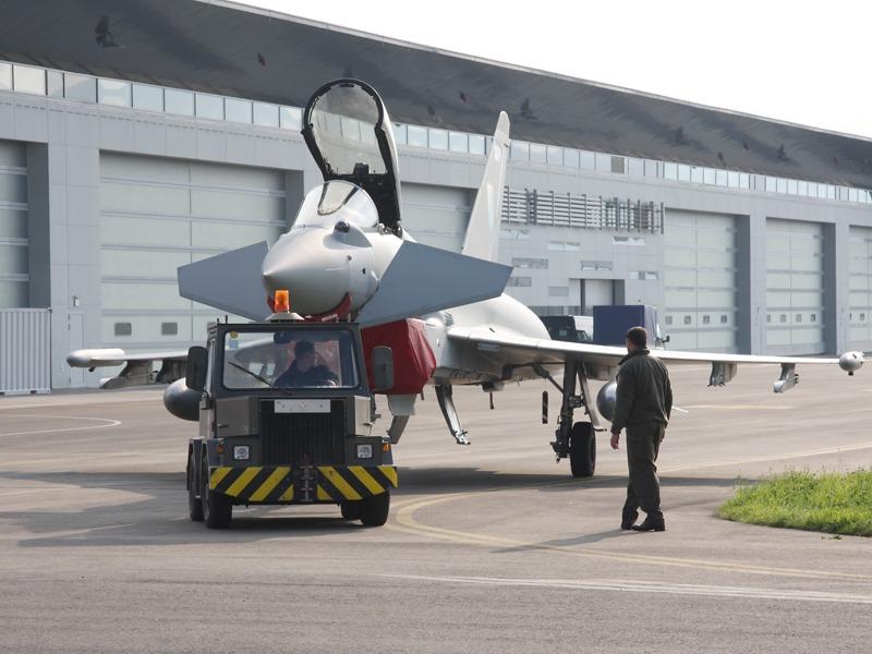 Eurofighter Typhoon der Royal Air Force aus Großbritannien